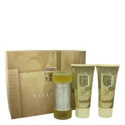 Bellagio Cologne by Bellagio -- Gift Set - 3.4 oz Eau De Toilette Spray + 6.8 oz Shower Gel + 6.8 oz After Shave Balm