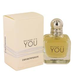 Because It's You Perfume by Emporio Armani 1.7 oz Eau De Parfum Spray