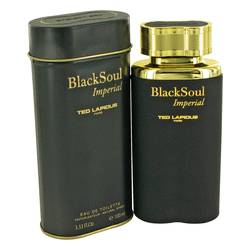 Black Soul Imperial Cologne by Ted Lapidus 3.33 oz Eau De Toilette Spray