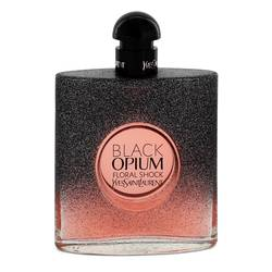 Black Opium Floral Shock Perfume by Yves Saint Laurent 3 oz Eau De Parfum Spray (Tester)