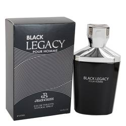 Black Legacy Pour Homme Cologne by Jean Rish 3.4 oz Eau De Toilette Spray