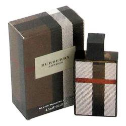 Burberry London (new) Mini by Burberry, .15 oz Mini EDT for Men Cologne