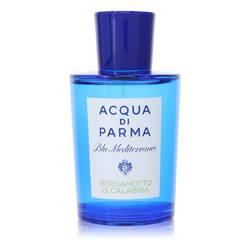Blu Mediterraneo Bergamotto Di Calabria Perfume by Acqua Di Parma 5 oz Eau De Toilette Spray (unboxed)