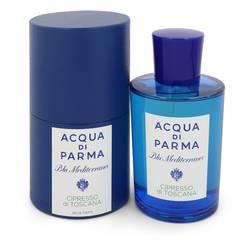Blu Mediterraneo Cipresso Di Toscana Perfume by Acqua Di Parma 5 oz Eau De Toilette Spray