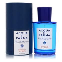 Blu Mediterraneo Arancia Di Capri Perfume by Acqua Di Parma 2.5 oz Eau De Toilette Spray