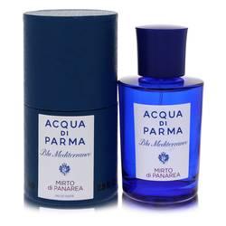 Blu Mediterraneo Mirto Di Panarea Perfume by Acqua Di Parma 2.5 oz Eau De Toilette Spray (Unisex)