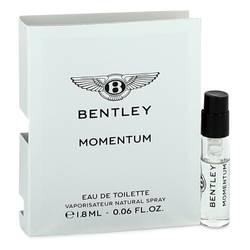 Bentley Momentum Cologne by Bentley 0.06 oz Vial (Sample)