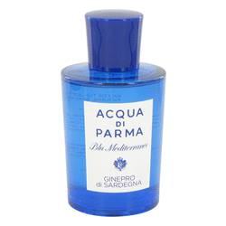 Blu Mediterraneo Ginepro Di Sardegna Perfume by Acqua Di Parma 5 oz Eau De Toilette Spray (Tester -Unisex)