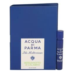 Blu Mediterraneo Bergamotto Di Calabria Perfume by Acqua Di Parma 0.04 oz Vial (sample)