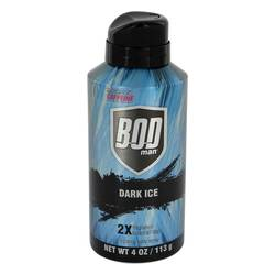 Bod Man Dark Ice Cologne by Parfums De Coeur 4 oz Body Spray