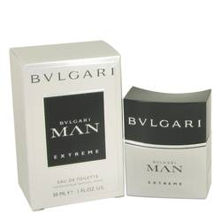 Bvlgari Man Extreme Cologne by Bvlgari 1 oz Eau DE Toilette Spray
