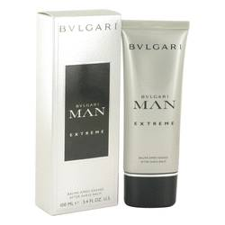 Bvlgari Man Extreme Cologne by Bvlgari 3.4 oz After Shave Balm
