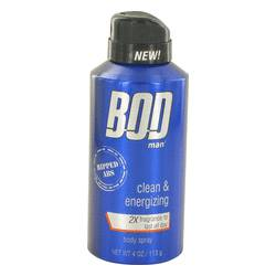 Bod Man Really Ripped Abs Cologne by Parfums De Coeur 4 oz Fragrance Body Spray