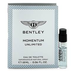 Bentley Momentum Unlimited Cologne by Bentley 0.06 oz Vial (Sample)