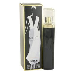 Boss Nuit Perfume by Hugo Boss 2.5 oz Eau De Parfum Spray (Runway Edition -Tester)