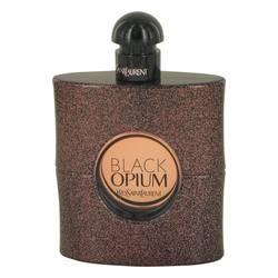 Black Opium Perfume by Yves Saint Laurent 3 oz Eau De Toilette Spray (Tester)