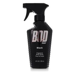 Bod Man Black Cologne by Parfums De Coeur 8 oz Body Spray