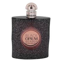 Black Opium Nuit Blanche Perfume by Yves Saint Laurent 3 oz Eau De Parfum Spray (Tester)
