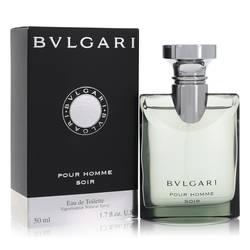 Bvlgari Pour Homme Soir Cologne by Bvlgari 1.7 oz Eau De Toilette Spray