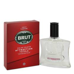 Brut Attraction Totale Cologne by Faberge 3.4 oz Eau De Toilette Spray