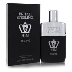 British Sterling Him Reserve Cologne by Dana 3.8 oz Eau De Toilette Spray