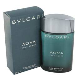 Aqua Pour Homme Cologne by Bvlgari 3.4 oz After Shave Lotion