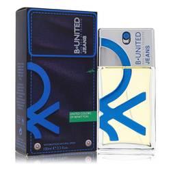 B United Jeans Cologne by Benetton 3.3 oz Eau De Toilette Spray