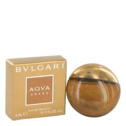 Bvlgari Aqua Amara Cologne by Bvlgari 0.17 oz Mini Edt