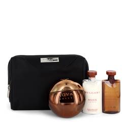 Bvlgari Aqua Amara Cologne by Bvlgari -- Gift Set - 3.4 oz Eau De Toilette Spray + 2.5 oz After Shave Balm _ 2.5 oz Shower Gel