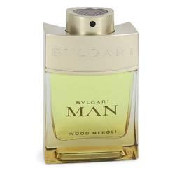 Bvlgari Man Wood Neroli Cologne by Bvlgari 2 oz Eau De Parfum Spray (Tester)