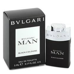 Bvlgari Man Black Cologne Cologne by Bvlgari 0.17 oz Mini EDT