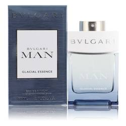 Bvlgari Man Glacial Essence Cologne by Bvlgari 2 oz Eau De Parfum Spray