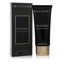 Bvlgari Goldea The Roman Night Perfume by Bvlgari 3.4 oz Pearly Bath and Shower Gel