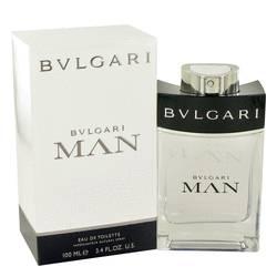 Bvlgari Man Cologne by Bvlgari, 3.4 oz EDT Spray for Men