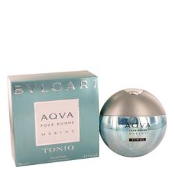 Bvlgari Aqua Marine Toniq Cologne by Bvlgari 3.4 oz Eau De Toilette Spray