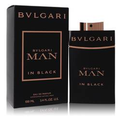 Bvlgari Man In Black Cologne by Bvlgari, 3.4 oz EDP Spray for Men