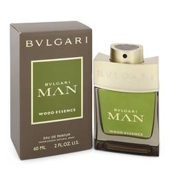 Bvlgari Man Wood Essence Cologne by Bvlgari 2 oz Eau De Parfum Spray