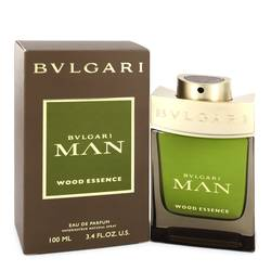 Bvlgari Man Wood Essence Cologne by Bvlgari 3.4 oz Eau De Parfum Spray