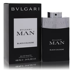 Bvlgari Man Black Cologne Cologne by Bvlgari 3.4 oz Eau De Toilette Spray