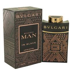Bvlgari Man In Black Essence Cologne by Bvlgari 3.4 oz Eau De Parfum Spray