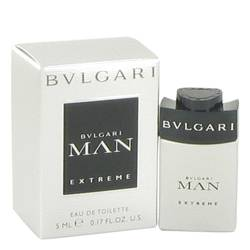 Bvlgari Man Extreme Cologne by Bvlgari 0.17 oz Mini EDT