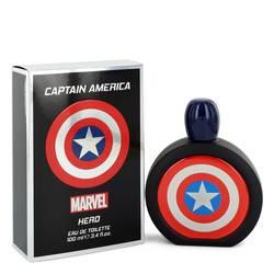 Captain America Hero Cologne by Marvel 3.4 oz Eau De Toilette Spray