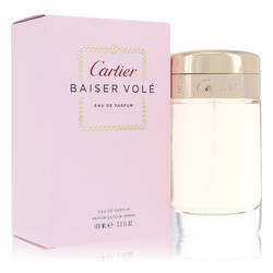 Baiser Vole Perfume by Cartier, 3.4 oz EDP Spray for Women