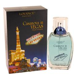 Casanova In Vegas Cologne by Lovance 3.4 oz Eau De Toilette Spray