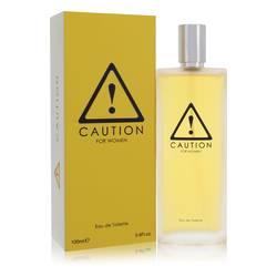 Caution Perfume by Kraft 3.4 oz Eau De Toilette Spray