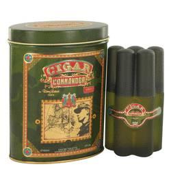 Cigar Commander Cologne by Remy Latour 2 oz Eau De Toilette Spray