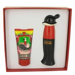 Cheap & Chic Perfume by Moschino -- Gift Set - 1 oz Eau De Toilette Spray + 1.7oz Body Lotion