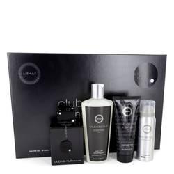 Club De Nuit Intense Cologne by Armaf -- Gift Set - 3.6 oz Eau De Toilette Spray + 1.7 oz Body Spray + 3.4 oz Shower Gel + 8.4 oz Shampoo with Conditioner