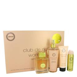 Club De Nuit Perfume by Armaf -- Gift Set - 3.6 oz Eau De Parfum Spray + 1.7 oz Body Spray + 3.4 oz Body Lotion + 8.4 oz Fragrance Body Spray