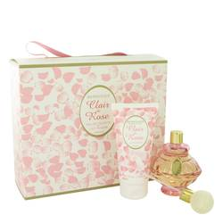 Clair De Rose Perfume by Berdoues -- Gift Set - 2.6 oz Eau De Toilette Spray + 2.5 oz Body Lotion